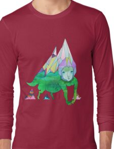 Over The Mountain Long Sleeve T-Shirt