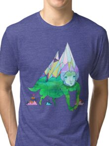 Over The Mountain Tri-blend T-Shirt