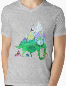 Over The Mountain Mens V-Neck T-Shirt