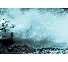 Jet Ski Wake Photographic Print