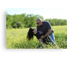 Melissa and Chris Canvas Print