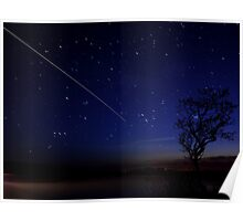 International Space Station Meets Gower Poster