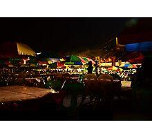 Pintados Festival at Night Photographic Print