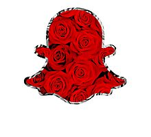 SNAPCHAT ROSE SWAG - LIMITED EDITION Photographic Print