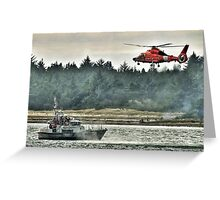 Rescue or Training Greeting Card