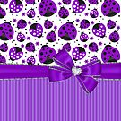 Purple Ladybugs by purplesensation