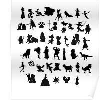 Disney Montage Poster