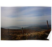 Inch Island From Scalp Mountain Poster
