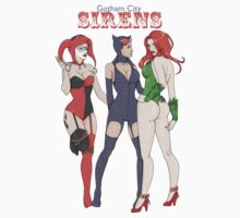 Gotham City Sirens by Samantha Royle