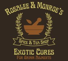 Rosalee and Monroe's Exotic Spice and Tea Shop by waywardtees