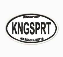 Kingsport Euro Sticker by storiedthreads