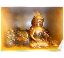 Buddha Blur Poster
