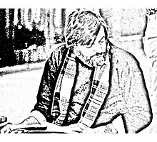 George Romero Portrait--On Location Photographic Print