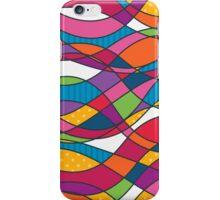 Bright geometric print iPhone Case/Skin