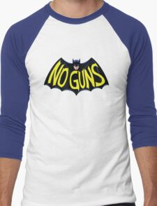 No Guns for this Hero Men's Baseball ¾ T-Shirt