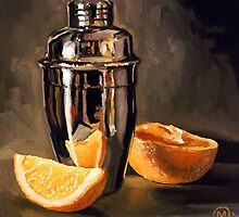 Orange & Martini by Maurice Morgan II