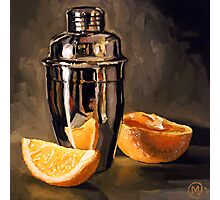 Orange & Martini Photographic Print