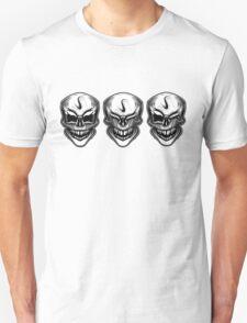 Laughing skulls t-shirt T-Shirt