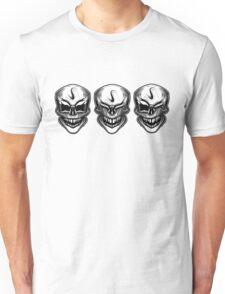 Laughing skulls t-shirt Unisex T-Shirt