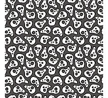 Funny zombie pattern Photographic Print