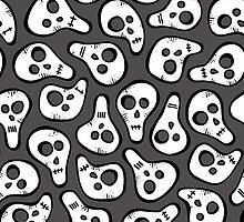 Funny zombie pattern by EV-DA