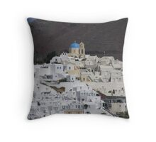 Santorini Throw Pillow