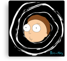 Morty Canvas Print