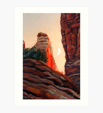 Cathedral Rock Spire Art Print