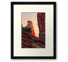 Cathedral Rock Spire Framed Print