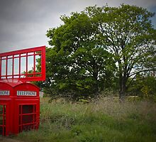 Telephone Box Sculpture  by Lightrace