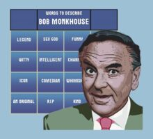 Words to describe...Bob Monkhouse by Cue-Fanfare