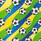 Football pattern by EV-DA