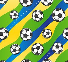 Football pattern by EV-DA