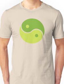 Green Yin Yang Unisex T-Shirt