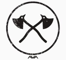 Angels and Airwaves Axe badge  by Jonrabbit