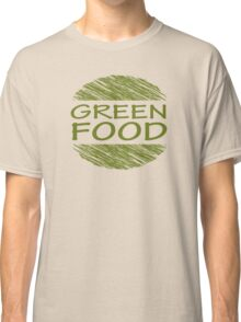 Go Green Food Vegetarian Vegan Classic T-Shirt