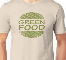 Go Green Food Vegetarian Vegan Unisex T-Shirt