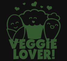 Vegan Veggie Lover One Piece - Short Sleeve