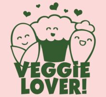 Vegan Veggie Lover One Piece - Long Sleeve