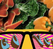 Vegan Vegetarian Go Veg Sticker
