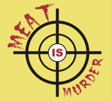 Meat Is Murder Kids Tee