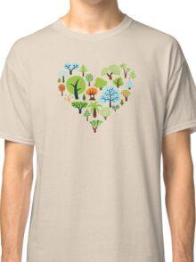 Green Tree Love Classic T-Shirt