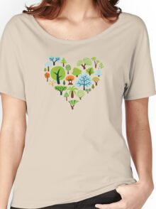 Green Tree Love Women's Relaxed Fit T-Shirt