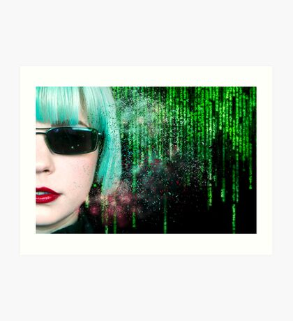 Matrix Homage Art Print