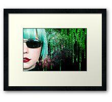 Matrix Homage Framed Print