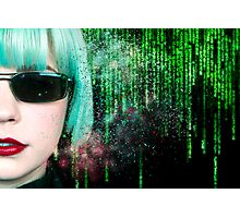 Matrix Homage Photographic Print