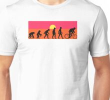 Pop Art Bike Evolution Unisex T-Shirt