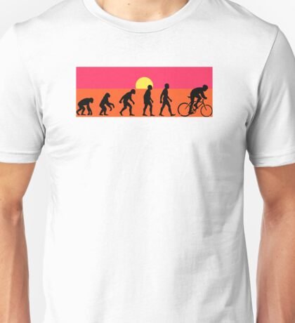 Pop Art Bike Evolution Unisex T-Shirt