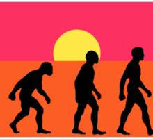 Pop Art Bike Evolution Sticker