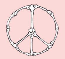 Peace Bones Baby Tee